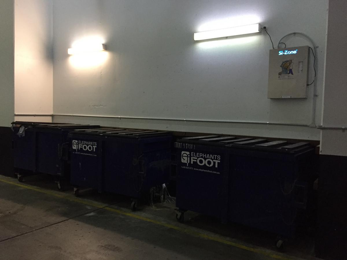 Loading Dock Odour Removal